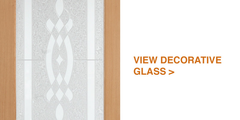 view by decorative glass