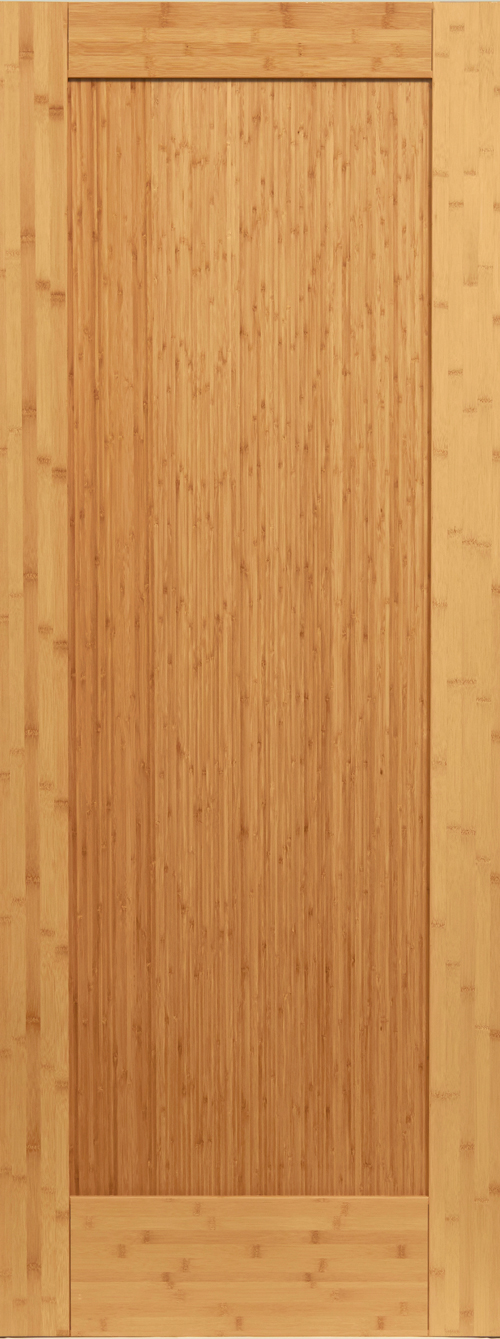 Bamboo 1 Panel Shaker Door