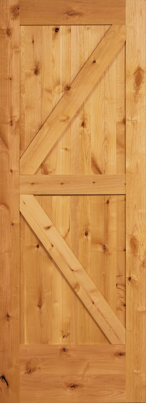 2 Pnl DIAGONAL Barn Door