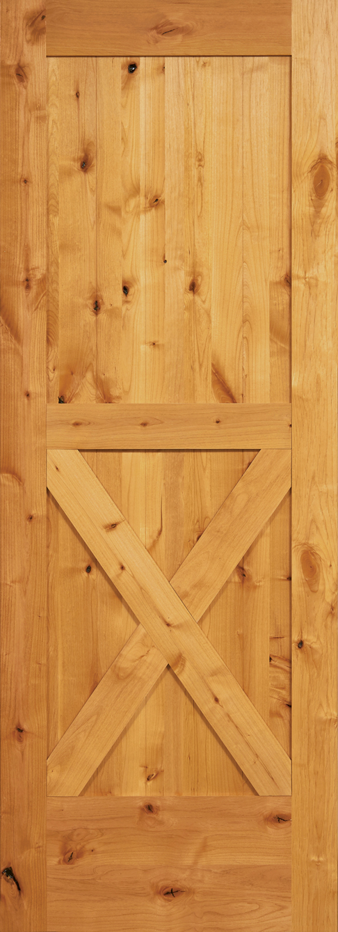2 Pnl LOWER X Barn Door
