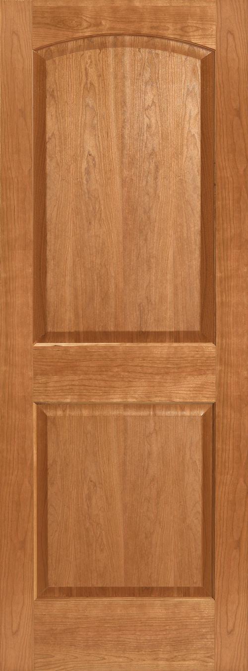 Cherry 2 Panel Arch Door