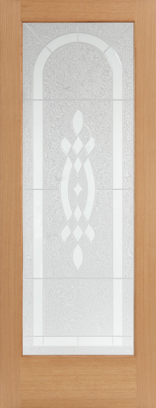 Creston Design Decorative Glass Door