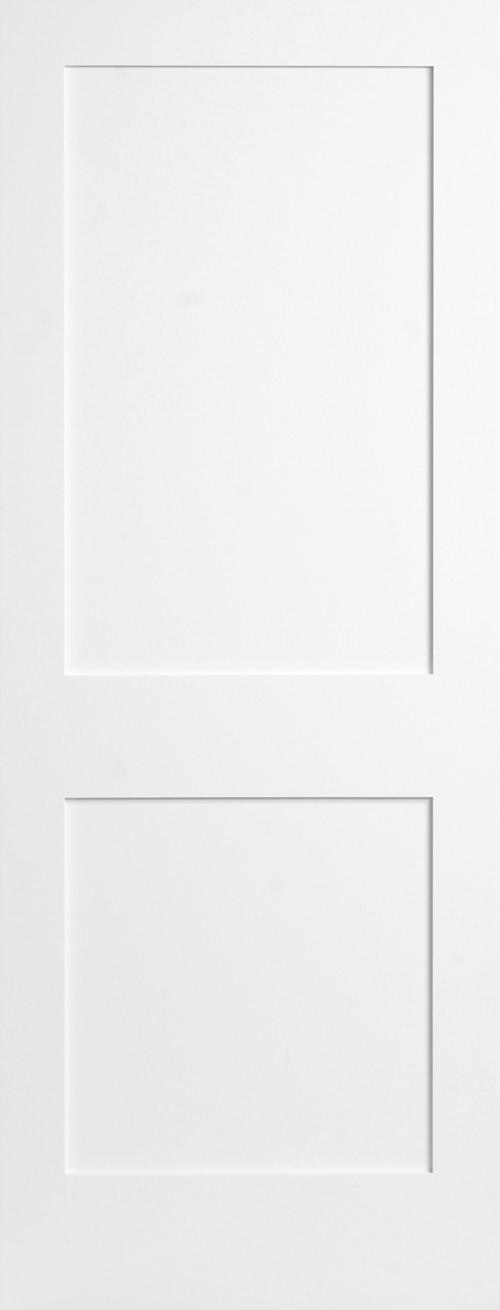 Primed 2 Panel Shaker Door