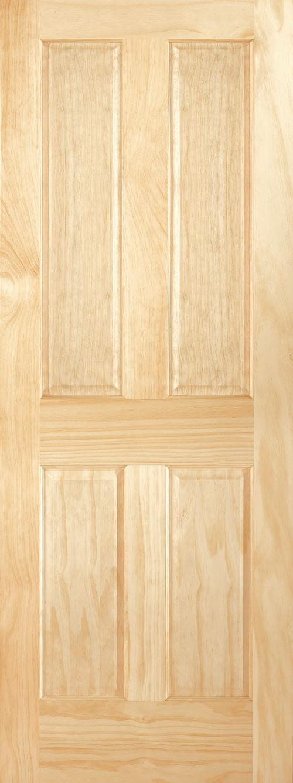 Radiata Pine 4 Panel Door