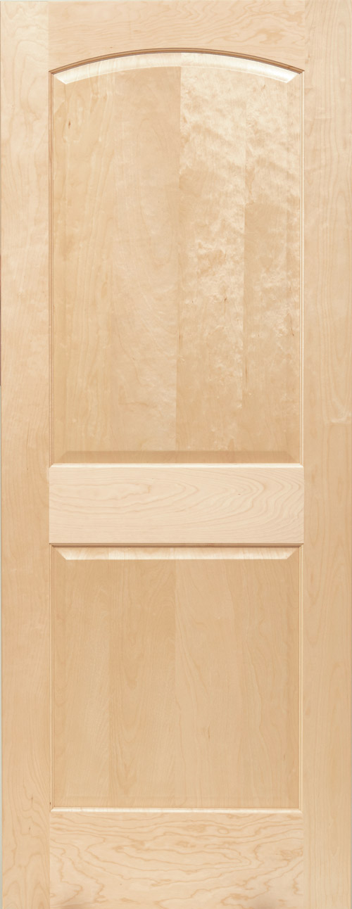 Maple 1 Panel Shaker Door