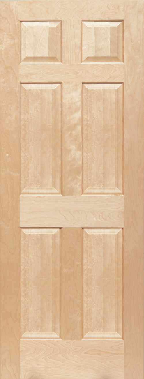 Maple 6 Panel Door