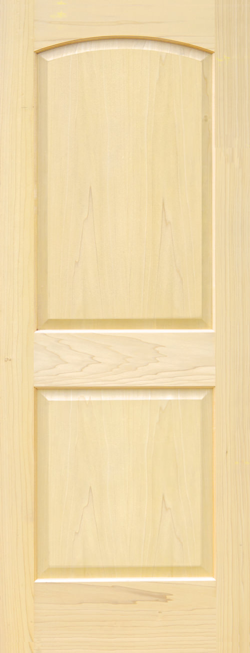 Yellow Poplar 1 Panel Shaker Door