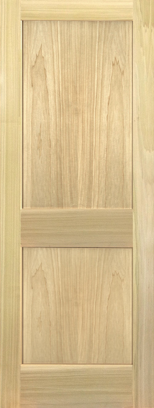 Yellow Poplar Stain Grade2 Panel Shaker Door