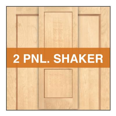 2 panel shaker