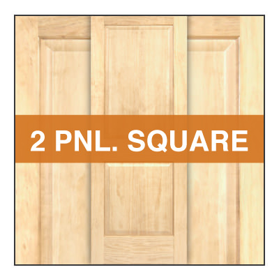 2 panel square