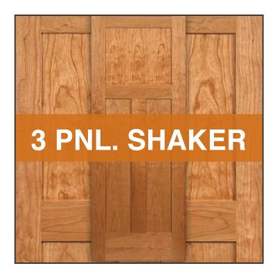 3 panel shaker